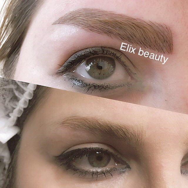 Elix Beauty Microblading Eyebrow permanent Makeup 24