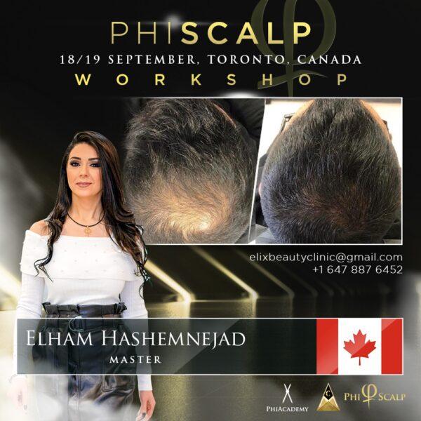Phiscalp Workshop, Toronto, Canada, Phimaster Elham Hashemnejad, Elix Beauty