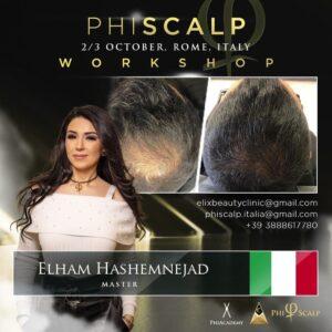 Phiscalp Workshop, Rome, Italy, Phimaster Elham Hashemnejad, Elix Beauty