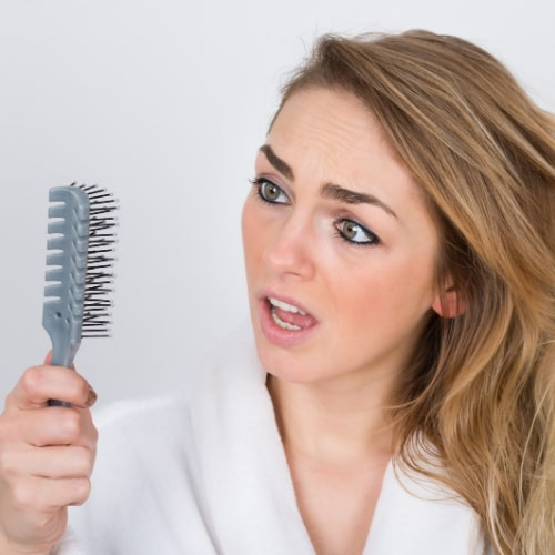Does changes in water cause hair loss?
